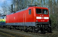 112 136  Dortmund  07.04.00 (w. + h. brutzer) Tags: dortmund eisenbahn eisenbahnen train trains deutschland germany elok eloks railway lokomotive locomotive zug db dr 112 webru analog nikon