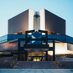 Silesia Library (Jakub Swietek) Tags: silesia katowice nowemuzeumslaskie architecture history museum poland