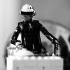 daftpunk djset (nicouze) Tags: daftpunk dj set lego figurine figure mini nb bw blackandwhite noiretblanc nicouze carréfrançais square cool fun