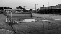 20170808_5217_1D3-28 The old school pool (220/365) (johnstewartnz) Tags: cnb centralnewbrightonschool pool swimmingpool earthquake eqnz eqnzearthquake newbrighton canon canonapsh eos 100canon 1dmarkiii 1d3 1dmark3 28135mm ef28135mmf3556isusm monochrome blackandwhite bw silvereffectspro niksilvereffectspro onephotoaday oneaday onephotoaday2017 project365 365project 100 unlimitedphotos 7dwf