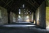 Middle Littleton, Tithe Barn Interior Perspective (Heaven`s Gate (John)) Tags: tithe barn tythe middlelittleton worcestershire engalnd architecture interior stone wood timber structure light natural johndalkin heavensgatejohn heritage history 10faves 25faves