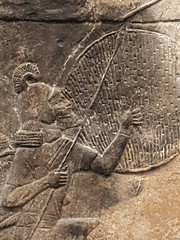 Attack on the Town (failing_angel) Tags: 191116 london camdenborough britishmuseum bloomsbury assyrian nineveh alammu attack