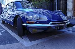 DS Citroën (JLM62380) Tags: auto street blue car transportation france citroen automobile ds