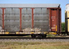 Erupto (quiet-silence) Tags: graffiti graff freight fr8 train railroad railcar art erupto a2m d30 dirty30 autorack ns norfolksouthern