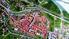 Venzone IT (M_Handl) Tags: annuallavenderfestival 100commentgroup rooftop above sky house dronepictures drone lavender italy venzone dronepicture