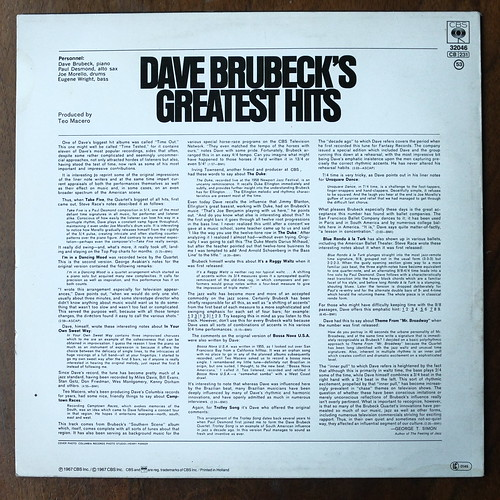 Dave Brubeck S Greatest Hits image