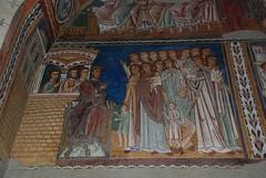 Costantino colpito dalla lebbra - Oratorio San Silvestro - Roma