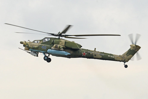 Mil Mi-28N 'RF-91391 / 40 blue'