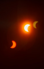 (Deliberate Spoonerism) Tags: sun moon sky black color rainbow red orange yellow blue green indigo violet canon 5d mark iii mark3 mk3 mkiii 70200mm f4 is usm l partial eclipse 81 coverage pittsburgh pa united states us