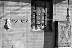 Last laundry of the day (++Rob++) Tags: greece griekenland crete kreta mirtos zwartwit blackwhite laundry was