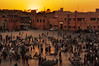 Jamaa el Fna (Mario Barzionni) Tags: morocco marocco trip motor motorbike bmw r1200gs sun summer sole caldo hot estate desert deserto viaggio marrakech jamaa el fna tramonto saunset