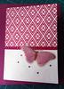 APC102 (tengds) Tags: card handmadecard allpurposecard lightcream maroon japanesepaper flowers butterfly pink acetate rhinestones papercraft tengds