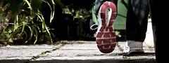 Small steps.... (nige.cox61) Tags: inbetween flickrfriday steps shoe walking