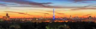 Berlin City Skyline Panorama