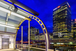 Constructed - Canary Wharf, London, UK