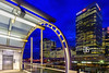 Constructed - Canary Wharf, London, UK (davidgutierrez.co.uk) Tags: london photography davidgutierrezphotography city art architecture nikond810 nikon urban travel color night blue uk londonphotographer skyscraper docklands bluehour twilight dusk photographer road colors colourful colours buildings lights transport england unitedkingdom colour 伦敦 londyn ロンドン 런던 лондон londres londra europe beautiful cityscape davidgutierrez capital structure britain greatbritain light streets d810 building eastlondon street skyscrapers barclays hsbc canarywharf ultrawideangle afsnikkor1424mmf28ged 1424mm arts landmark attraction skyline dlr