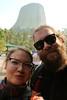 Matt and Preita Devils Tower WY (Preita) Tags: blackhills southdakota sd touring motorcycletouring buell harley s