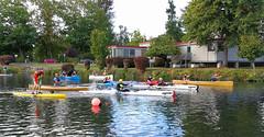 Eugene RiverFest Race (Wolfram Burner) Tags: eugene oreogn uoregon outdoor program university uofo uo river fest riverfest boating canoeing kayaks alton baker park open spaces wolfram burner wolframburner