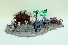 9 Kingdoms Challenge: Finn´s Stable (-Balbo-) Tags: lego brandküste moc bauwerk creation balbo neun reiche nine kingdoms 9