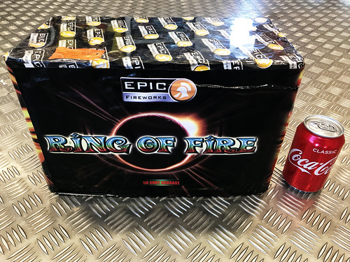 Ring Of Fire 50 Shot Single Ignition Firework