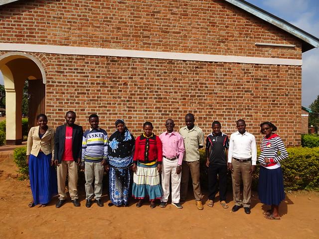 Teachers at Ntimbanjayo Memorial School
