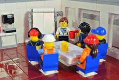 Brainstorming (FonsoSac) Tags: moc shiptember meeting board