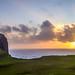 Sundown in Neist, Isle of Skye