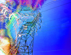 High Tension (byzantiumbooks) Tags: electricity panosabotage
