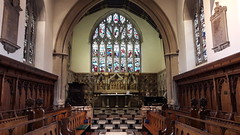 Jesus College chapel, Oxford (Pjposullivan1) Tags: jesuscollege oxforduniversity collegechapel altar reredos stainedglass window georgeedmundstreet