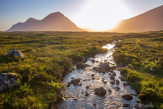 Glencoe Valley. A tributary of the river Etive.