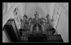 Grandes orgues cathédrale Tours (d.wavresky) Tags: orgues cathédrale tours noiretblanc