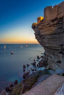 Bonifacio sunset