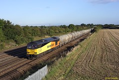 60002 Cossington 12-09-17 (benwheeler) Tags: 60002 colas rail 6l44 oxwellmains west thurrock cossington