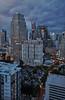 View from Sukhumvit Soi 18 (Thomas Mulchi) Tags: bangkok thailand 2017 panorama verticalpanorama vertorama viewfromsukhumvitsoi18 cloudy beforerain clouds krungthepmahanakhon th