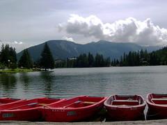 Lac de Champex (Pierre Roy (woper25) ☘️) Tags: suisse switzerland vallée valais wallis montagne massif montagnes nature juillet 2008