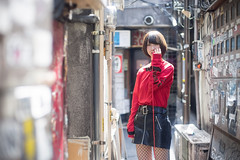 Fate (ai3310X) Tags: carlzeiss ycontax planar t1450 portraits ポートレート 新宿 新宿ゴールデン街