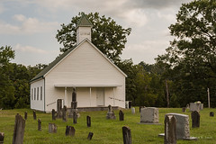 Blue Springs Missionary Baptist CHurch (Back Road Photography (Kevin W. Jerrell)) Tags: churches ruralphotography ruralscenes countrychurches countryroads backroadphotography faith baptist christianity oldbuildings oldchurches nikond7200 countrylife cemetery