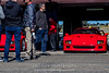 Red-Ferrari-F40-sports-car-in-sydney-by-la-lente-photography-in-pit-garage (Paul D'Ambra - Australia) Tags: car red ferrari sportscar redsportscar redferrari vehicle motorvehicle redf40