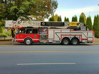 North Vancouver City, BC Ladder 10