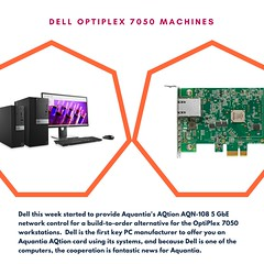 AQUANTIA 5 GBE CARDS OFFERED IN DELL WORKSTATION-4 (anushreecharvarthy) Tags: aquantia aqtion aqn108based 5 gbe cards network interface adapter nic 1 gbps 25 pcie 30 x4 slot enterprise gaming home networking client pcs workstations intel's 10 x540 card ethernet dell precision t7610 workstation rentalindia