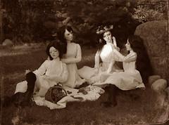 Picnic at Hanging Rock (dolls of milena) Tags: bjd abjd resin doll portrait vintage retro elfdoll rita emma sian