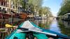 Canoeing in Amsterdam (jbdodane) Tags: amsterdam canal canoe europe jordaan netherlands