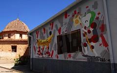 Fanzara, Castellón, España. (Caty V. mazarias antoranz) Tags: fanzara castellón comunidadvalenciana murales muralesdefanzara arte pintura pueblosdecastellón castellóndelaplana altomijares arteenlascalles arteenlosmuros arteenlasfachadas fachadas spain españa
