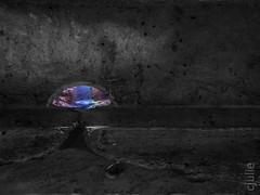 beauté cachée (cjuliecmoi) Tags: brockville brockvillerailwaytunnel ontario sitehistorique vacances voyage détail béton lumière couleur color abstract abstrait