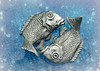 PISCES •´¯`•.,,.• 🐟 🐟 (Through Serena's Lens) Tags: hmm macromondays zodiac sign pisces fish pewter chopstickrestholders macro stilllife tabletop 7dwf