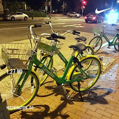 #activetransportation from stationless bikeshare to everyone gets a bike @limebike #futurestartshere ❤️DC