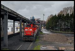DB Cargo 6425, Amsterdam Westhaven 01-04-2017 (Henk Zwoferink) Tags: amsterdam noordholland nederland nl falns db cargo oba westhaven 6425 6400 mak dbs dbsrn cokes henk zwoferink