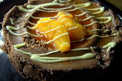 Sunken Chocolate & Valencian Orange Cheesecake (Tony Worrall) Tags: add tag ©2017tonyworrall images photos photograff things uk england food foodie grub eat eaten taste tasty cook cooked iatethis foodporn foodpictures picturesoffood dish dishes menu plate plated made ingrediants nice flavour foodophile x yummy make tasted meal nutritional freshtaste foodstuff cuisine nourishment nutriments provisions ration refreshment store sustenance fare foodstuffs meals snacks bites chow cookery diet eatable fodder sunken chocolate valencian orange cheesecake bake cake choc fruit messy