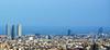 Barcelona, Catalunya (cpcmollet) Tags: barcelona catalonia view skyline architecture arquitectura sea mar mediterranean blue blau azul europe europa panorama city urban panorámica agbar ttower w hotel