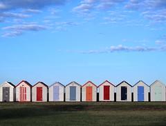 021 Beach Huts at Youngs Park (Easymalc) Tags: goodrington paignton torbay devon
